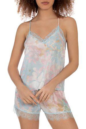 Midnight Bakery Romantic Floral Print Pajama Set