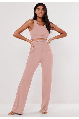 Missguided Women Pajamas - Scoop Neck Pyjama Set