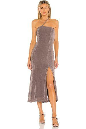 LPA Damia Dress in Taupe.