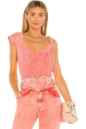 Noam Tawny Bodysuit in Pink.