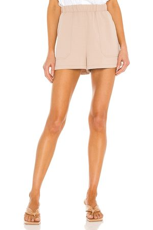 BB Women Shorts - Here Today Short in Neutral.