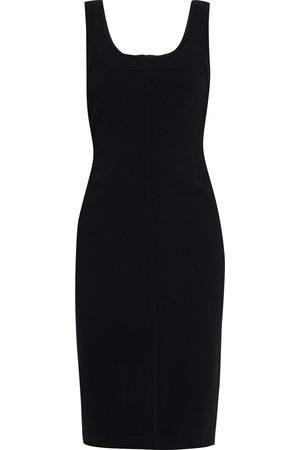 Halston Heritage Woman Cora Crepe Dress Size 4