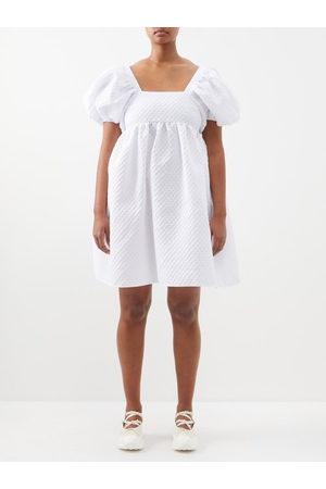 Cecilie Bahnsen Women Dresses - Edition Tilde Puff-sleeved Cloqué Dress - Womens