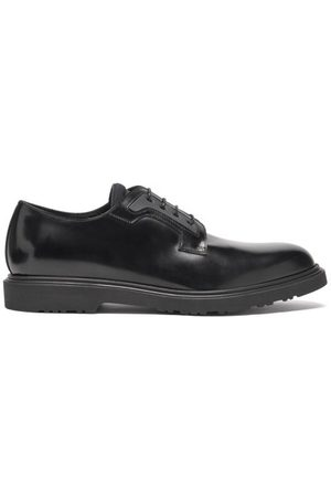 Paul Smith Mac Neoprene-tongue Leather Derby Shoes - Mens