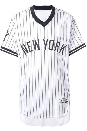 Stadium Goods Striped v-neck T-shirt