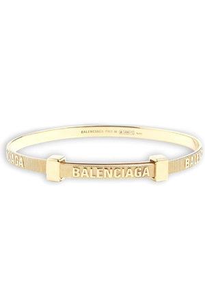 Balenciaga Force striped bracelet