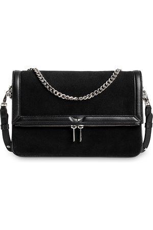 Zadig & Voltaire Women Purses - Suede Rock Novel Foldover Chain Strap Bag