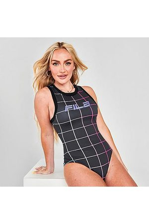 Fila Women's Athena Racerback Bodysuit in / Size X-Small Polyester/Spandex/Jersey