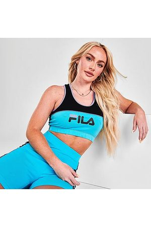 Fila Women Sports Bras - Women's Poesia Medium-Support Sports Bra in / Size X-Small Cotton/Spandex/Jersey