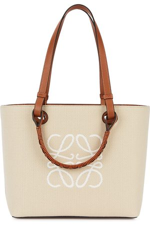 Loewe Women Purses - Anagram small canvas tote