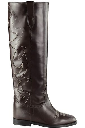 Via Roma Boots Women Pelle