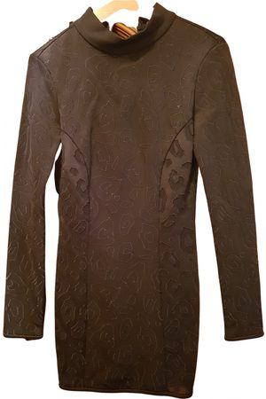 Anthony Vaccarello \N Cotton - elasthane Dress for Women