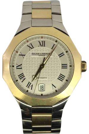 Baume et Mercier Men Watches - Riviera gold and steel Watch for Men