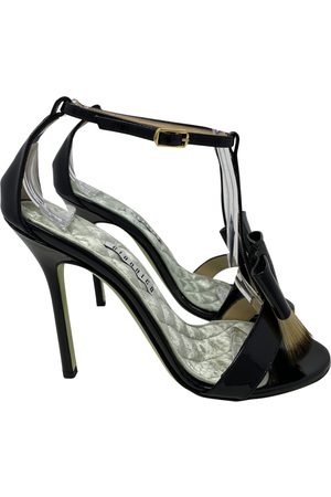 GIANNICO \N Patent leather Sandals for Women