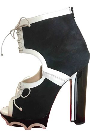 Christian Louboutin \N Suede Ankle boots for Women