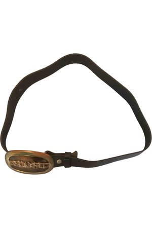 Dsquared2 Men Belts - VINTAGE \N Leather Belt for Men