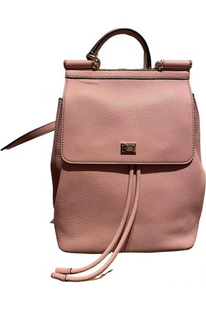 Dolce & Gabbana Sicily Leather Backpack for Women