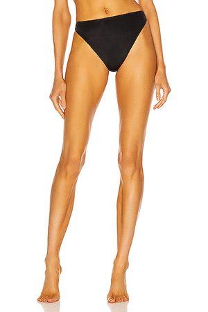 AEXAE Triangle High Cut Bikini Bottom in