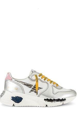 Golden Goose Women Running - Running Sneaker in Metallic .