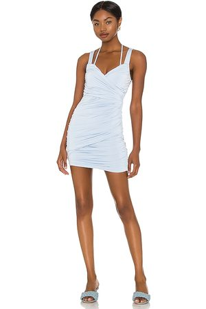 Lovers + Friends Trent Mini Dress in Soft Periwinkle in Baby .