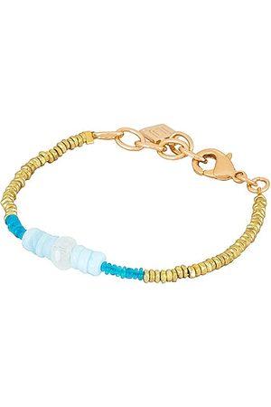 Dannijo Iza Bracelet in Metallic Gold, .
