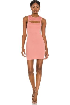 Michael Costello X REVOLVE Catherine Mini Dress in Rose.