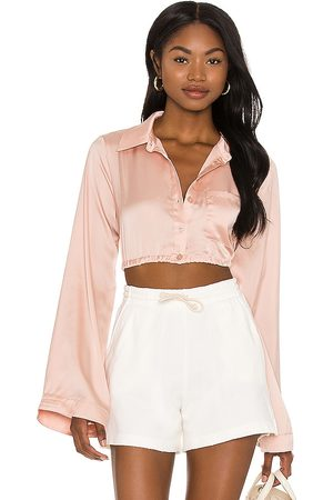 Lovers + Friends Angela Top in Blush.