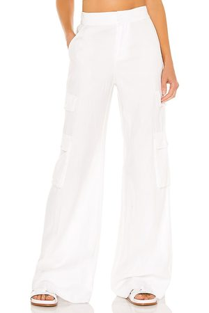 ALICE+OLIVIA Hayes High Waste Wide Leg Cargo Pant in .