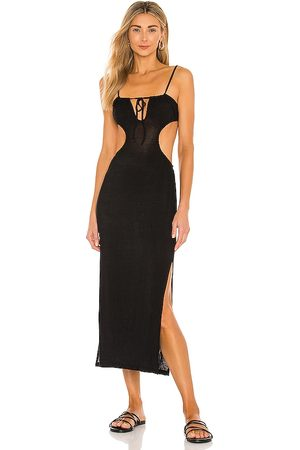 WeWoreWhat Ruched Cutout Maxi Dress in .