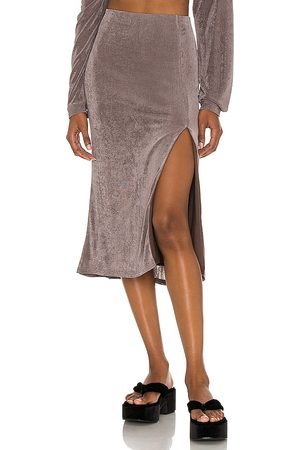 LPA Hans Skirt in Taupe.
