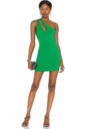 superdown Nava Asymmetrical Mini Dress in .
