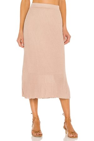 Line Tai Skirt in Nude.
