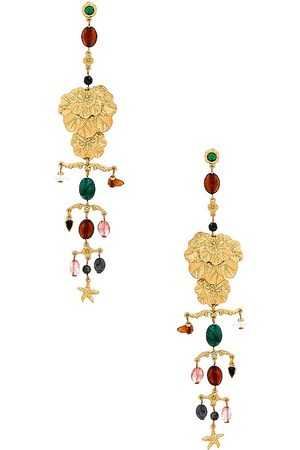 8 Other Reasons Statement Earring in Metallic .