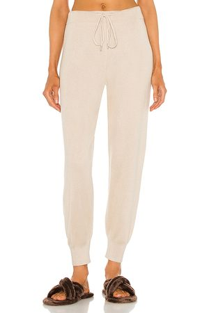 ATM Anthony Thomas Melillo Cashmere Silk Pull On Pant in Nude.