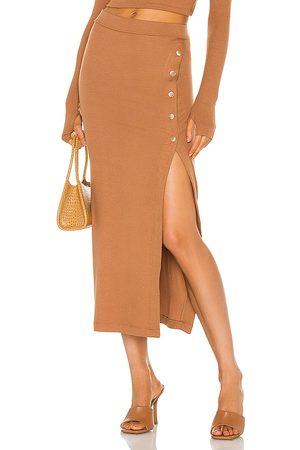 Alix NYC Fordham Skirt in Cognac.