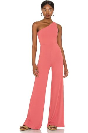 Lovers + Friends Charli Jumpsuit in Rose.