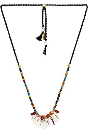 Lizzie Fortunato Isola Necklace in Black,Red.