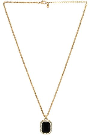 petit moments Libra Necklace in Metallic .