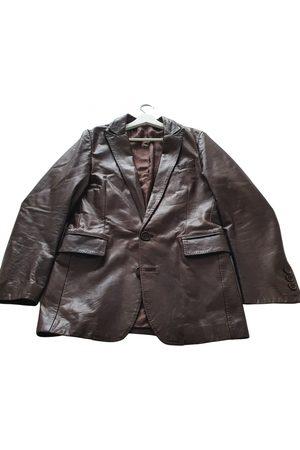 DIRK BIKKEMBERGS Men Leather Jackets - \N Leather Jacket for Men