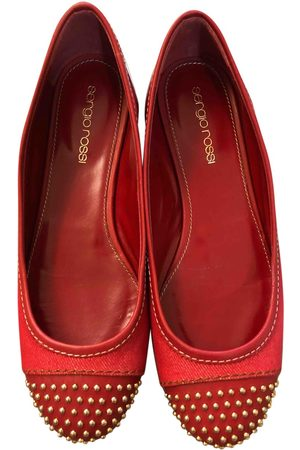 Sergio Rossi \N Cloth Ballet flats for Women