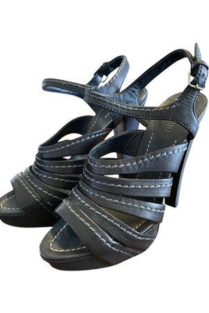 Miu Miu Leather sandal