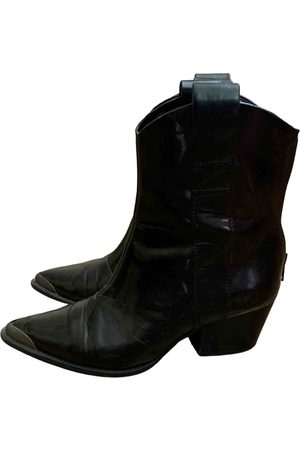 Stradivarius \N Leather Ankle boots for Women