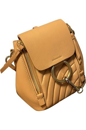 Chloé Women Rucksacks - Faye Leather Backpack for Women