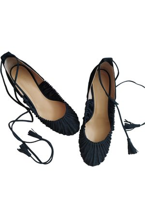 Sézane \N Leather Ballet flats for Women