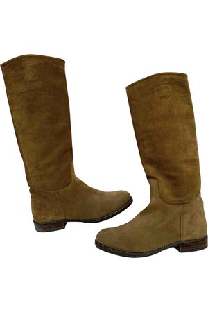 Ludwig Reiter \N Suede Boots for Women