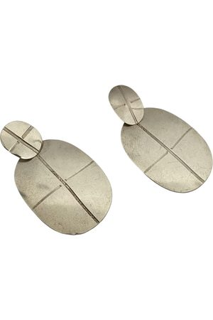 Annie Costello Brown \N Plated Earrings for Women