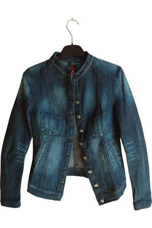 Marithé & Francois Girbaud \N Denim - Jeans Leather Jacket for Women