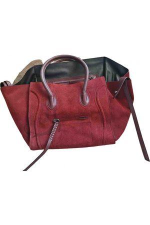 Céline Luggage Phantom Suede Handbag for Women