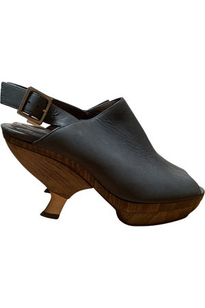 Marni \N Leather Mules & Clogs for Women