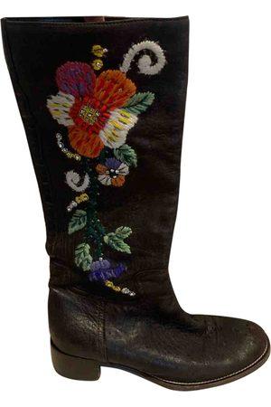 Miu Miu \N Leather Boots for Women